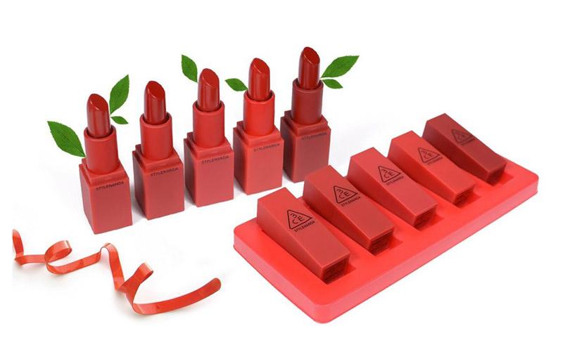 Son lì 3CE Mood Redcipe Matte Lip Color