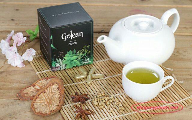 Hướng dẫn sử dụng trà giảm cân Golean