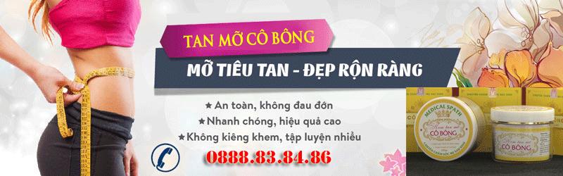Kem Tan Mỡ Cô Bông Cho Phụ Nữ Sau Sinh