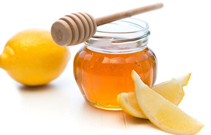 Chanh và mật ong tẩy lông nách
