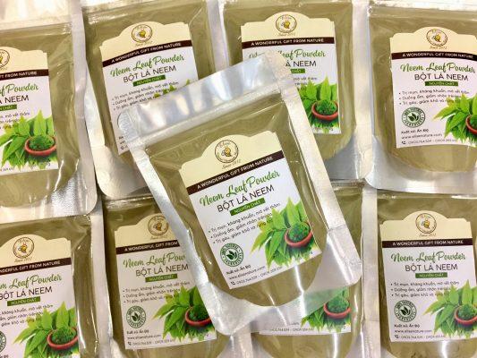 Bột lá neem ấn độ nguyên chất neem
