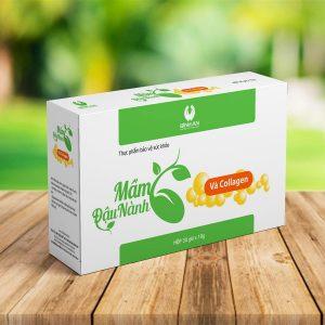 Mầm đậu nành Collagen
