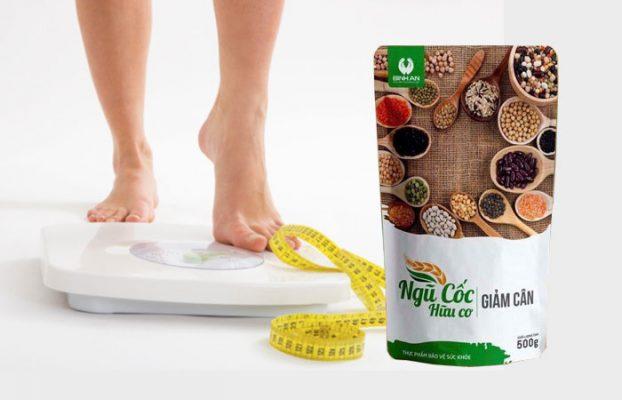 Tác dụng của bột ngũ cốc giảm cân Bình An