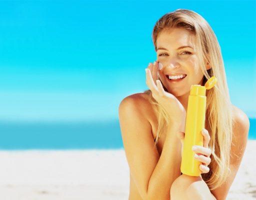 Cách bôi kem chống nắng hiệu quả