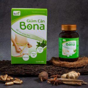 Viên uống hỗ trợ giảm cân Bona